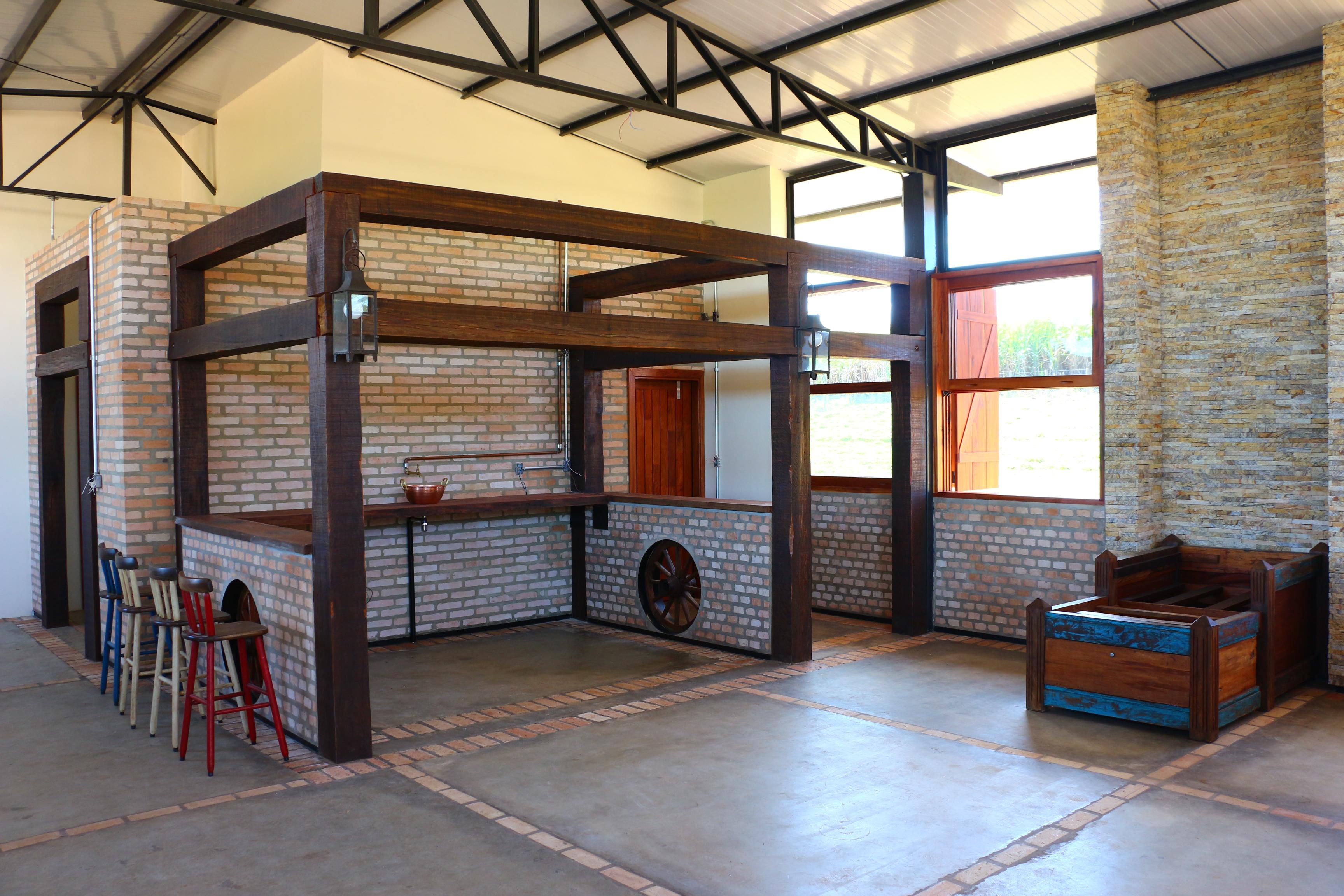 CASA GALPÃO (UM LOFT NO CAMPO) « TETO Arquitetura Sustentável e  #997532 3456x2304 Arquitetura Sustentavel Banheiro