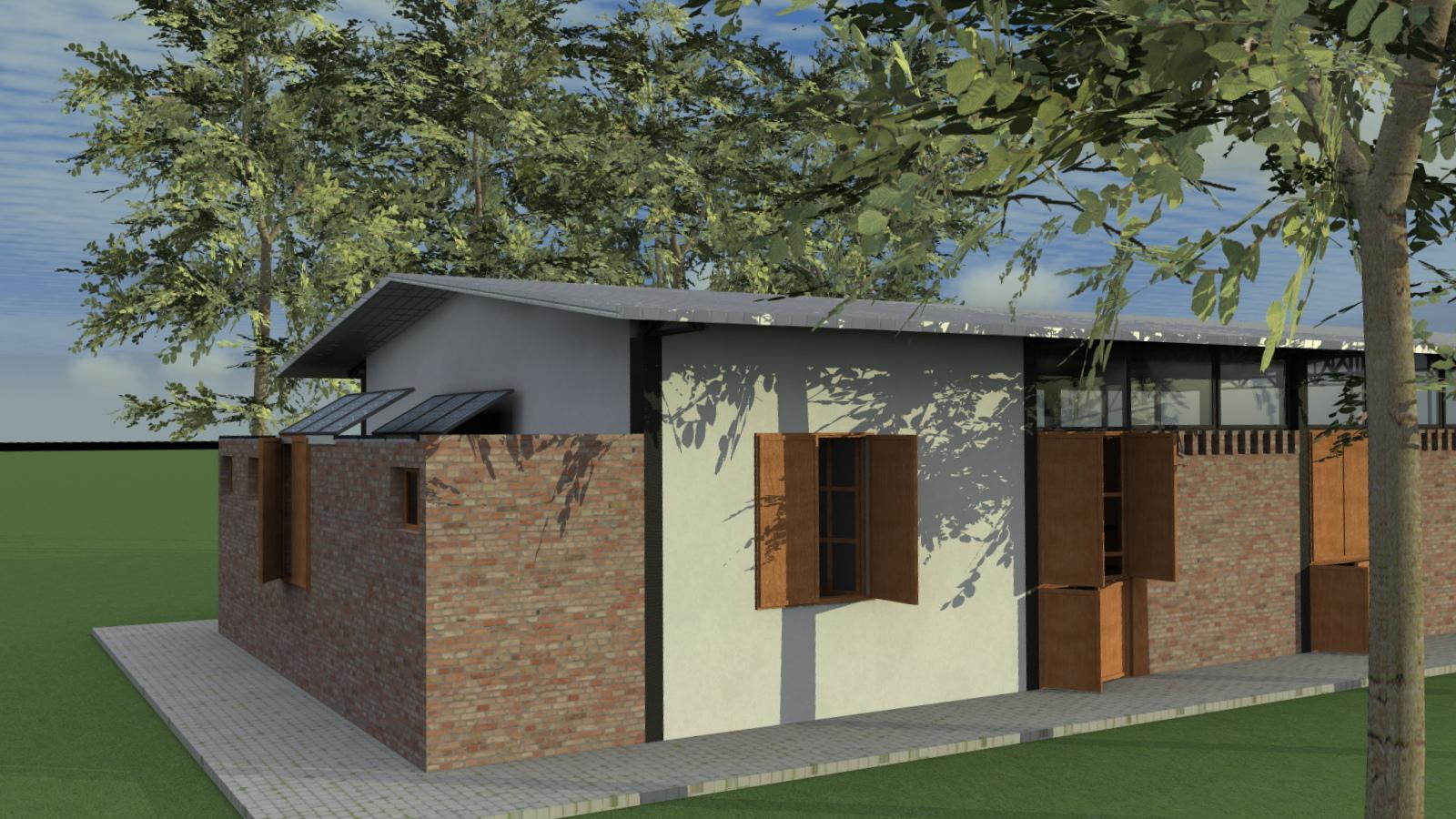 CASA GALPÃO (UM LOFT NO CAMPO) « TETO Arquitetura Sustentável e  #5E4732 1600x900 Arquitetura Sustentavel Banheiro