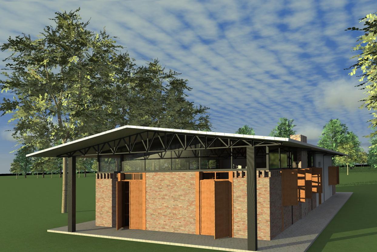 CASA GALPÃO (UM LOFT NO CAMPO) « TETO Arquitetura Sustentável e  #A86123 1243 829