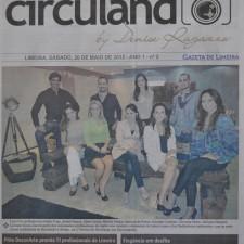 Gazeta de Limeira, Caderno Circulando - Capa | Mostra de Decoração Móveis Brazão | 26 de maio de 2012