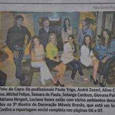 Gazeta de Limeira, Caderno Circulando - página 06 | Mostra de Decoração Móveis Brazão | 26 de maio de 2012