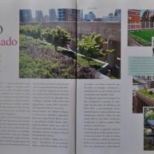 Revista Panorama n°10, Gazeta de Ribeirão Preto | Especial Sustentabilidade - Telhado Verde, páginas 10, 11 e 12 | Novembro de 2011