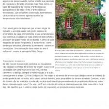 Revista Casa & Construção  n°.109, Editora Escala _Seção Paisagismo_Fachada Natural_ página 22_Outubro de 2014