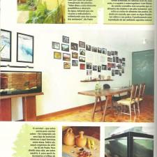 Revista Casa & Decoração n° 56 | Online Editora |  Seção Atitude | Reforma do Escritório TETO | página 46 | Abril de 2012