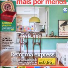 Revista Construir Mais por Menos n° 40, Editora Escala  | Seção Jeitos de Morar | Projeto Sustentável |  páginas 42 e 43 | Fevereiro de 2014
