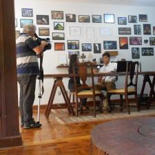 """Matéria para o programa """"Cultura e Meio Ambiente"""" da TV Claret (afiliada da TV Cultura). Reportagem Karina Rossi, imagens Claudio Biscoito, fotos Hiago Vilar (ECOCASA)"""