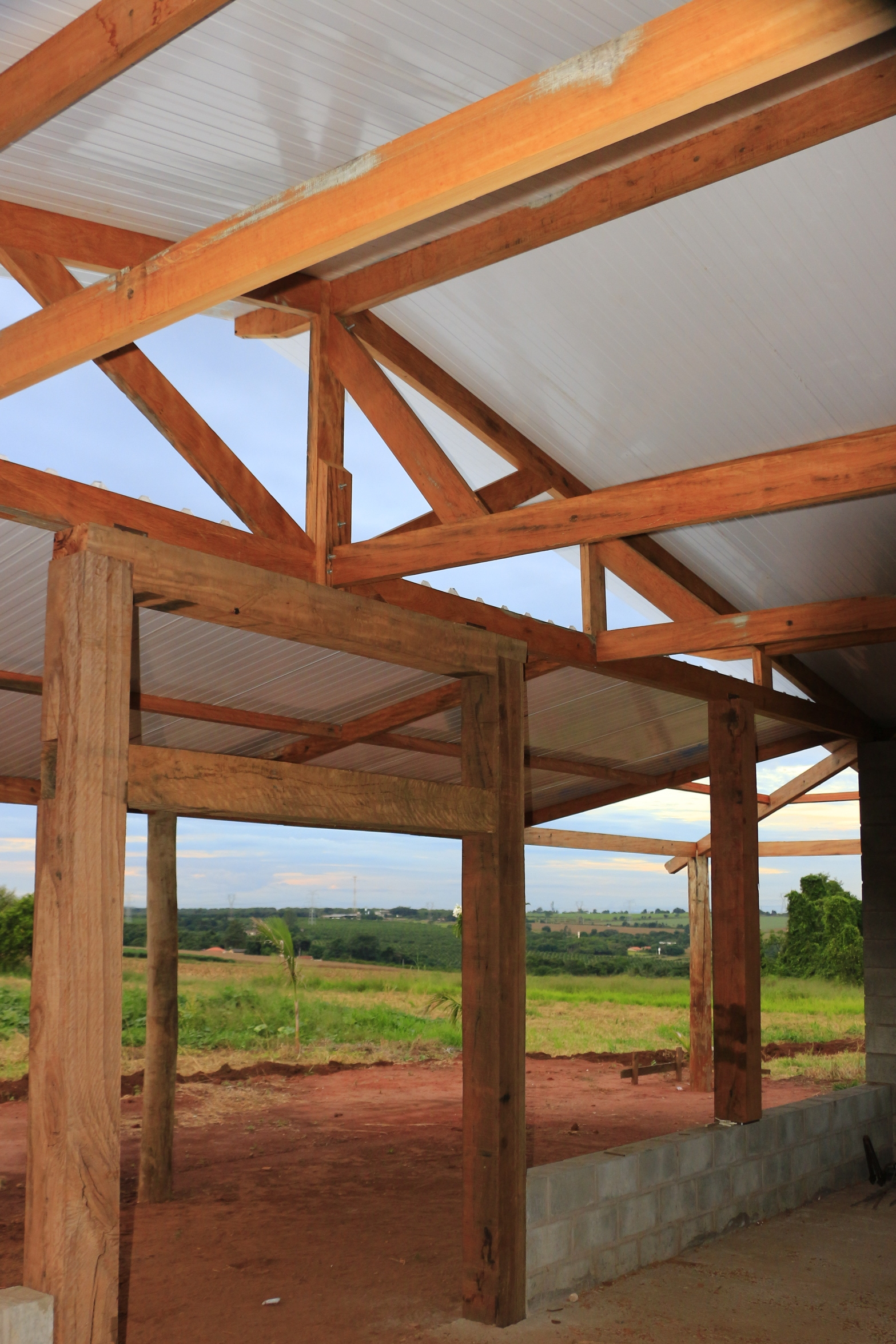 CASA VARANDA « TETO Arquitetura Sustentável e Paisagismo  #A15C2A 1567x2350 Arquitetura Sustentavel Banheiro