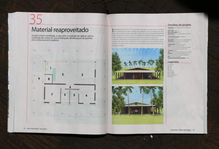 Revista Casa & Construção n° 10  Editora Escala  Especial Casas de Campo páginas 40, 41, 76 e 77  Agosto de 2013 (1)