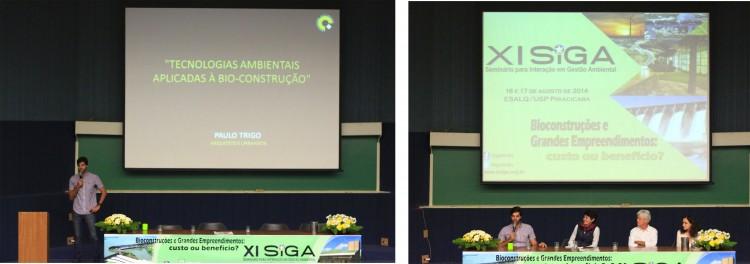ESALQ | USP_XI SIGA (Seminário para Interação em Gestão Ambiental) | Agosto 2014