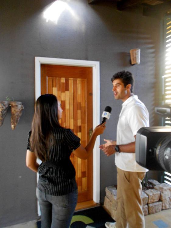 TV CLARET REPORTER KARINA ROSSI_programa Cultura e Meio Ambiente_contato Ecocasa Hiago Vilar (5)